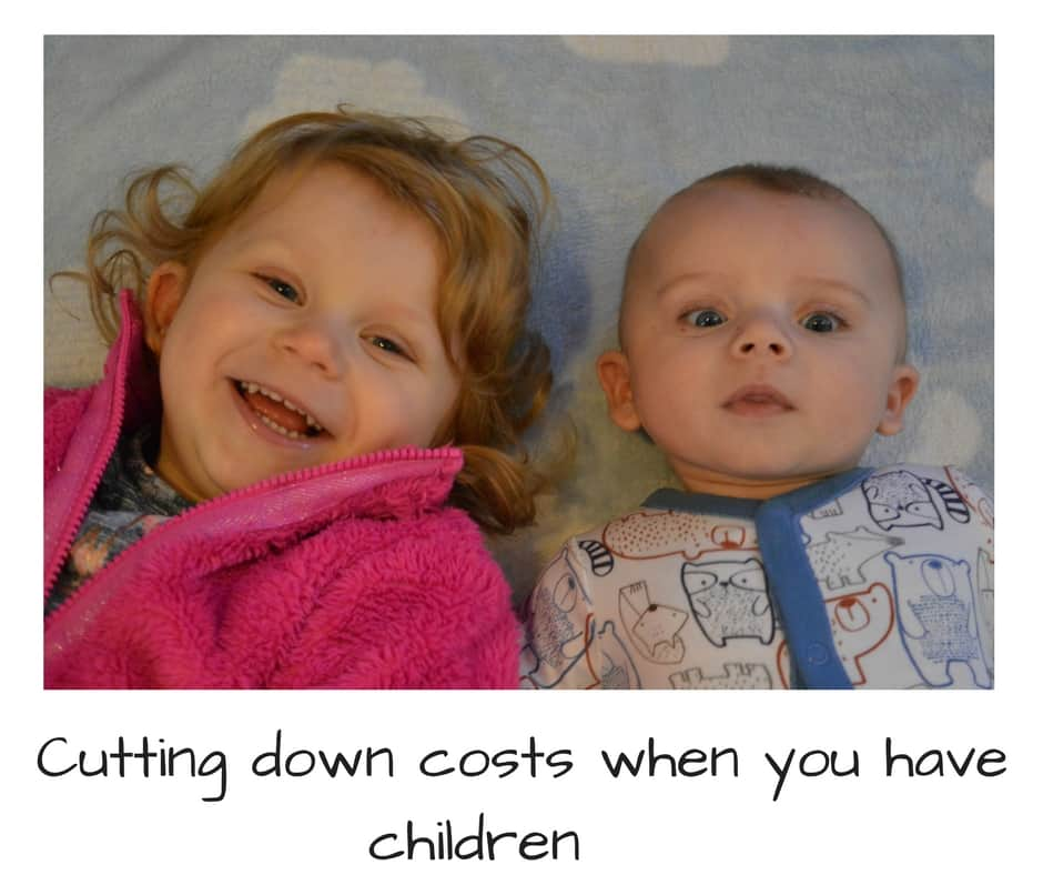 how to cut costs when you have children