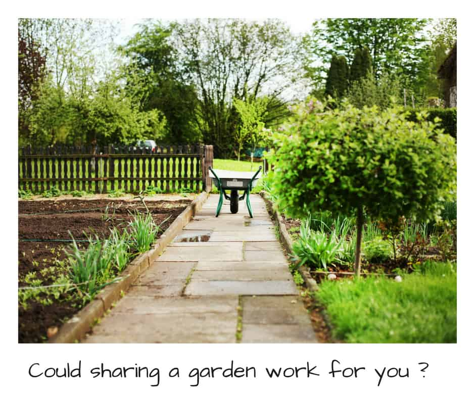 Sharing a garden could it work for you ?