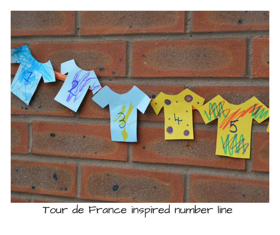 Tour de France inspired crafts