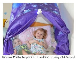 Dream Tents the perfect addition to any child's bed