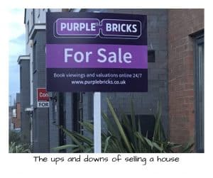 Buying and selling a house is so stressful- the ups and downs