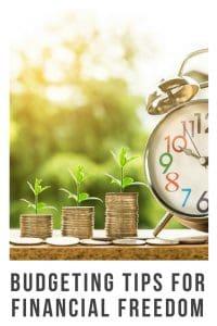 Budgeting Tips for Financial Freedom its easier than you think #finances #savings #budgeting #tips #savingmoney #forbeginners