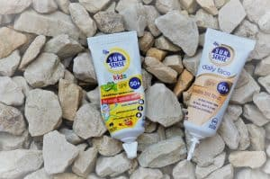 SunSense great on eczema prone skin and the whole family