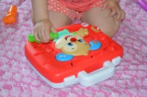Fisher-Price laugh and learn sweet manors tea set and Puppy's check-Up