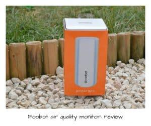 Foobot air qulaity monitor