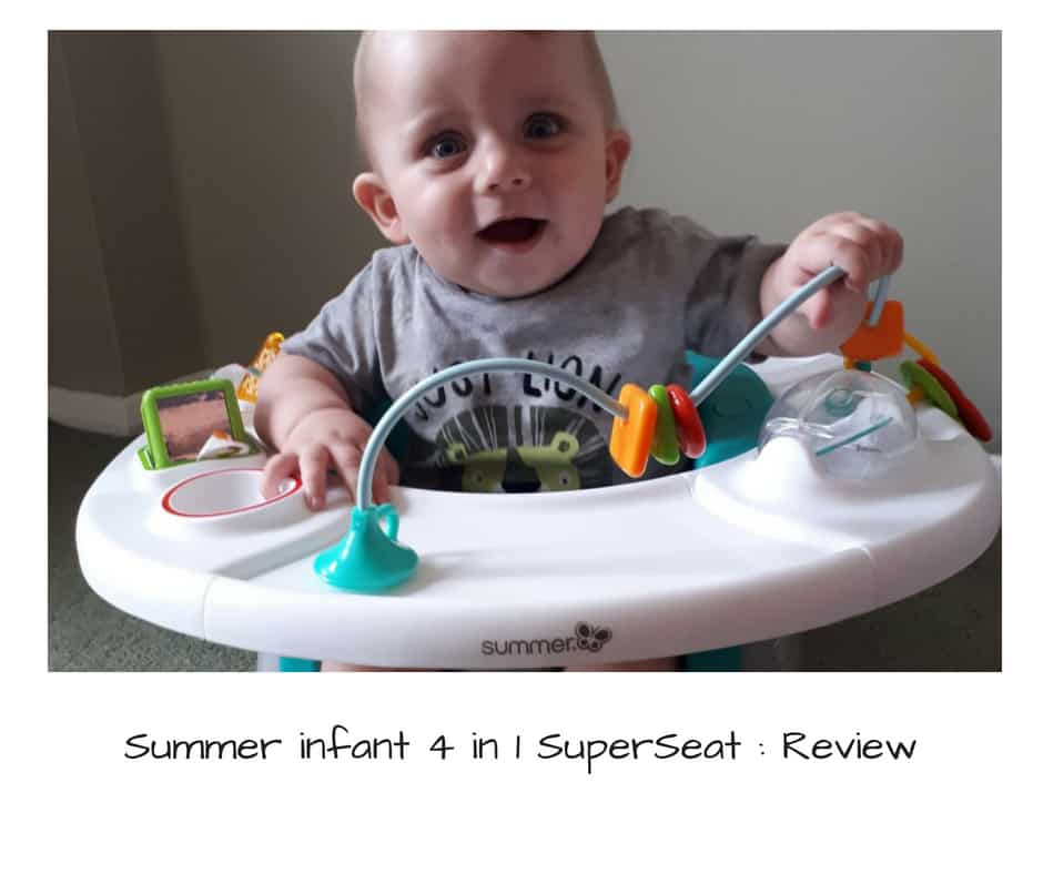 Summer infant 4 in 1 SuperSeat