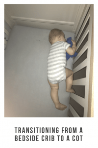 Having a bedside crib has made those early days so much easier but now it's time to move him to his cot . It's been hard I have lost a lot of sleep but we're getting there . See how we did it #cosleeper #cosleeping #bedsidecrib #ideas #parenting #baby #products #ideas #parentingtips
