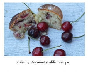 Cherry Bakewell muffin recipe
