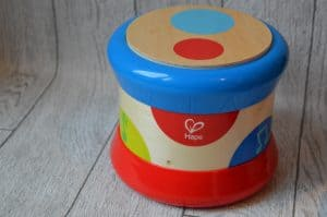 Gift ideas for a one year old Hape drum