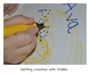 creative fun with Stabilo