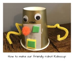 Our friendly robot robocup and how you can make him