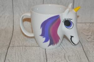 Colour changing Unicorn mug gift ideas