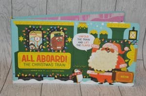 All Aboard the christmas train the perfect book for advent