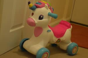 Baby Clementoni Interactive Ride On Unicorn