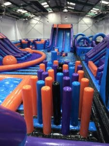 Main area at Inflata Nation Birmingham