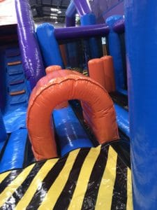 Under 4 area Inflata Nation Birmingham