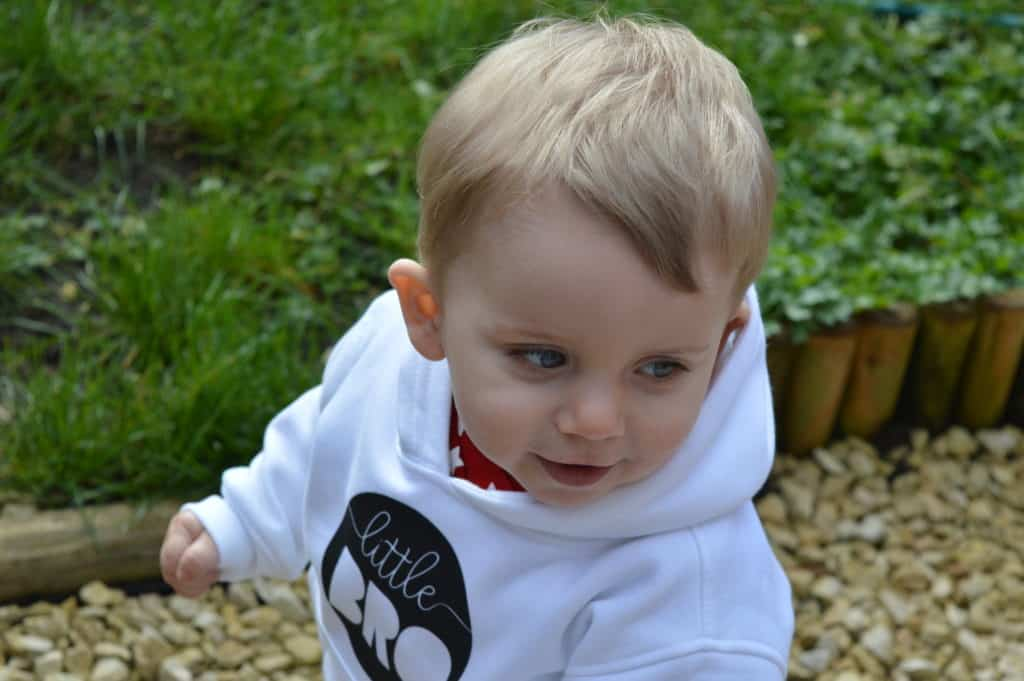 Brother hoodie from Teether baby boutique