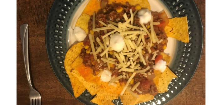 Make your own nachos
