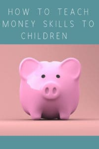 How to teach money skills to children the easy way. Start as you mean to go on. Providing them with skills for life. #lifeskills #money #moneyskills #teachingchildrenaboutmoney #lifelesson #eyfs