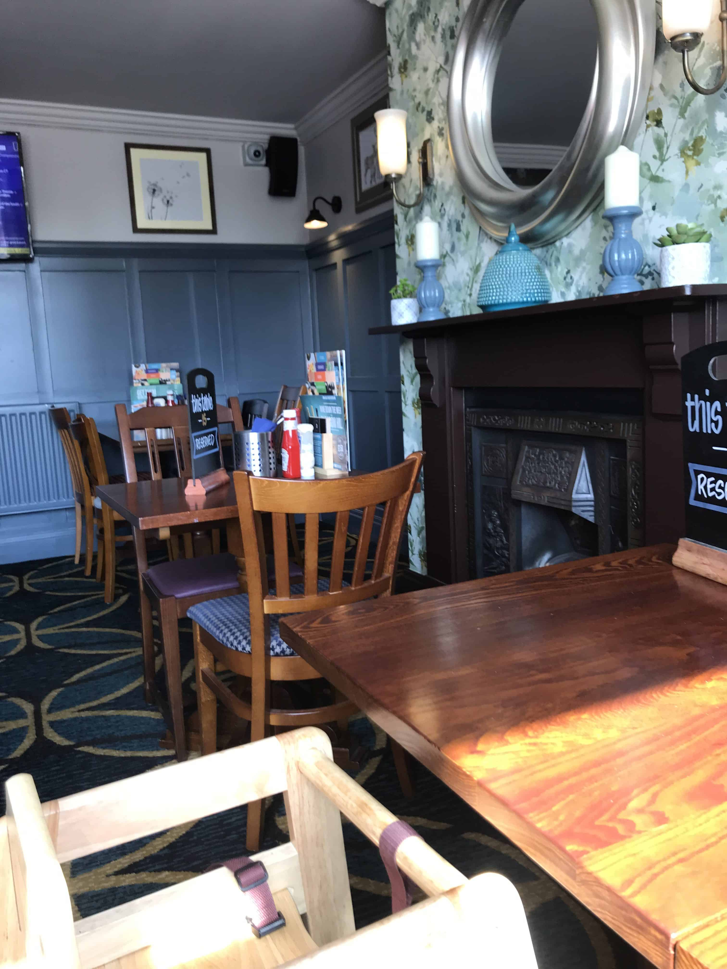 The Community room of the Merry Hill Pub and Grill