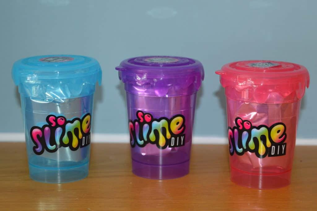 So Slime DIY colour change slime shakers