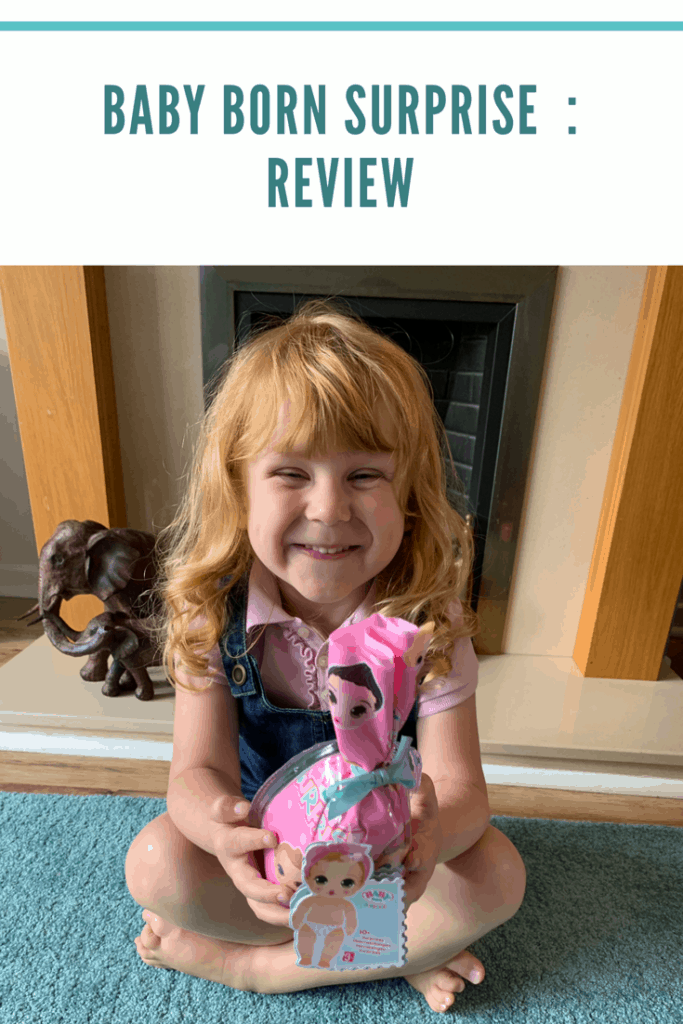 The BABY born surprise doll is the perfect gift to children that enjoy dolls. They are a smaller cuter version of the bigger dolls . Perfect for taking around with you . It comes with a great selection of  accessories #babydolls #dolls #childrenstoys #roleplay #children #review