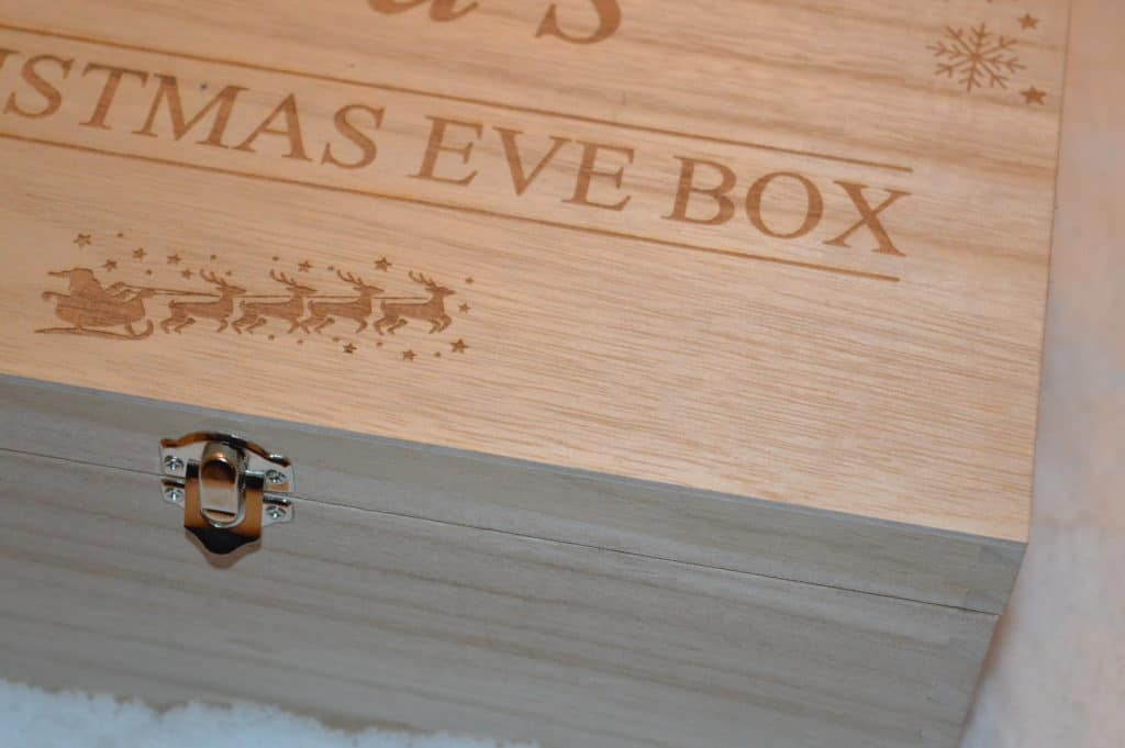 Enchanted Wood Christmas Ee=ve box
