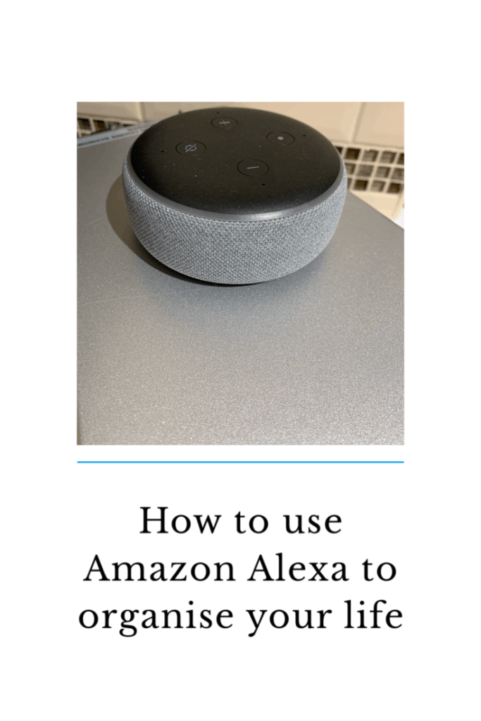 Amazon Alexa products are so much more than a speaker to play music from . They are a great tool to keep your life organised. Here is how I keep my family of four organised using Amazon Alexa.  #amazon #alexa #AmazonAlexa #organise #family #organisation #home #family