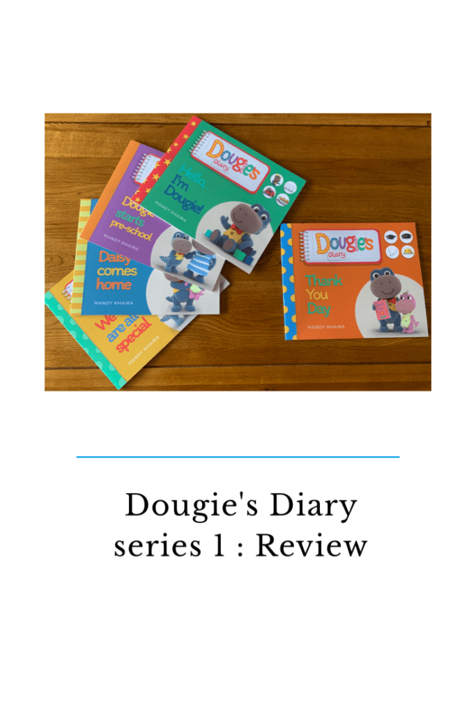 Dougie's Diary are a collection of preschool books that cover a wide range of different subjects. Including race, family and starting pre school. #preschool #earlyyears #eyfs #eyfsbook #learning #homeschool