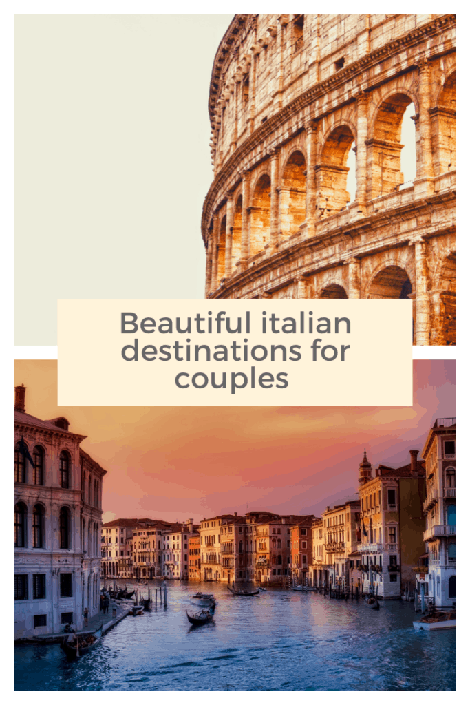 Now that lockdown restrictions are easing it's the perfect time to get away. Here are some beautiful Italian destinations for couples. #lockdown #Italy #couplesholidays #getaway #holiday #vacation #Italiangetaway