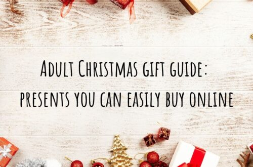 Adult Christmas Gift guide