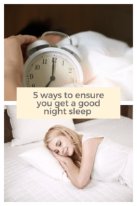 Having a good night sleep is so important .  Here are five simple ways to ensure you get a good nights    sleep #sleep #goodsleep #howtosleep