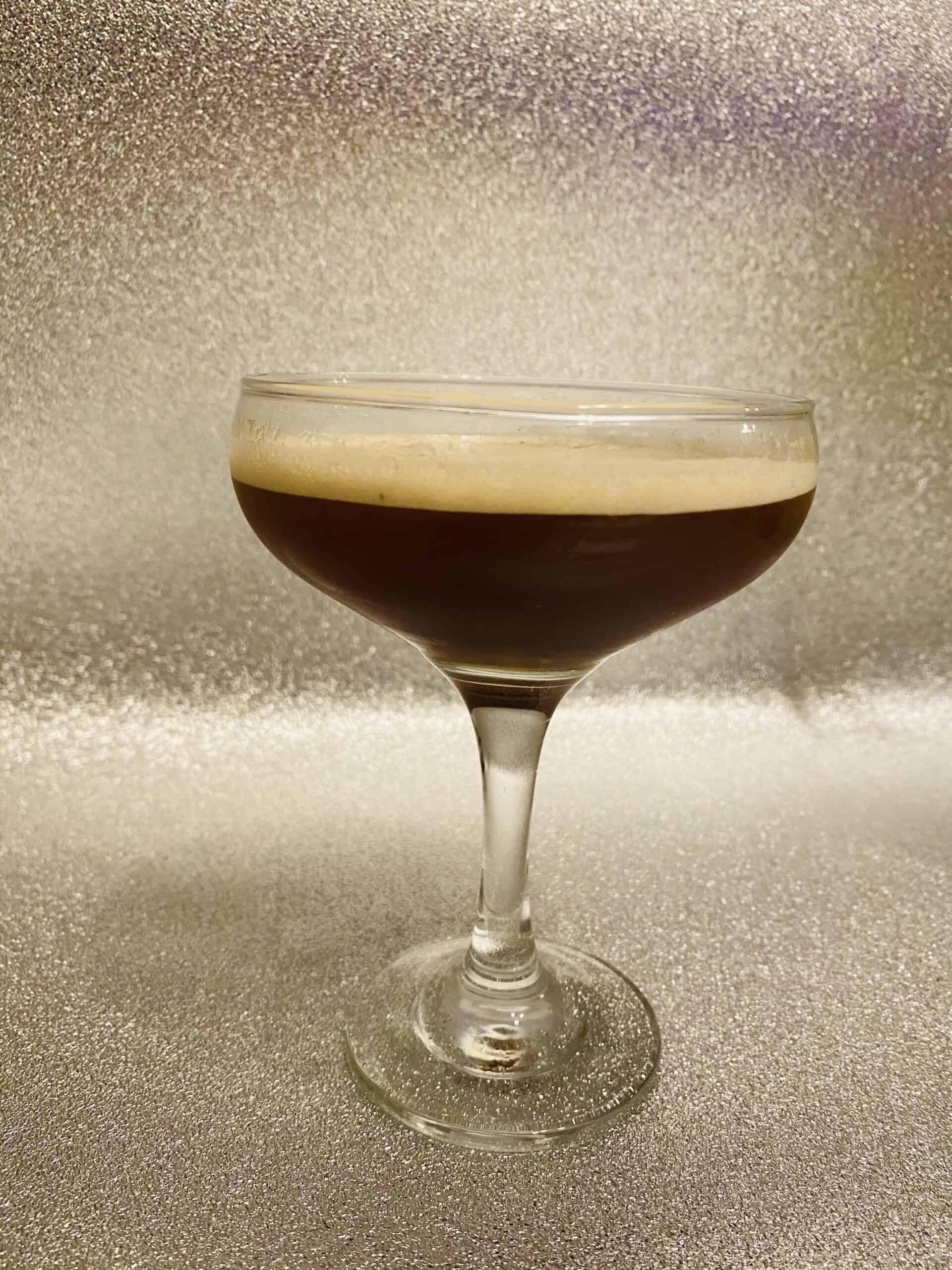 Gingerbread espresso martini