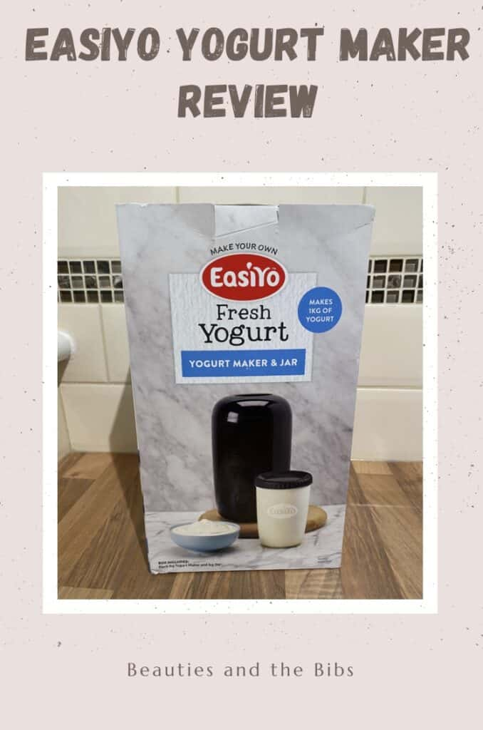 The EasiYp yogurt maker makes making yogurt at home easy. #homemade #fresh #healthy #healthyfood #familyfood