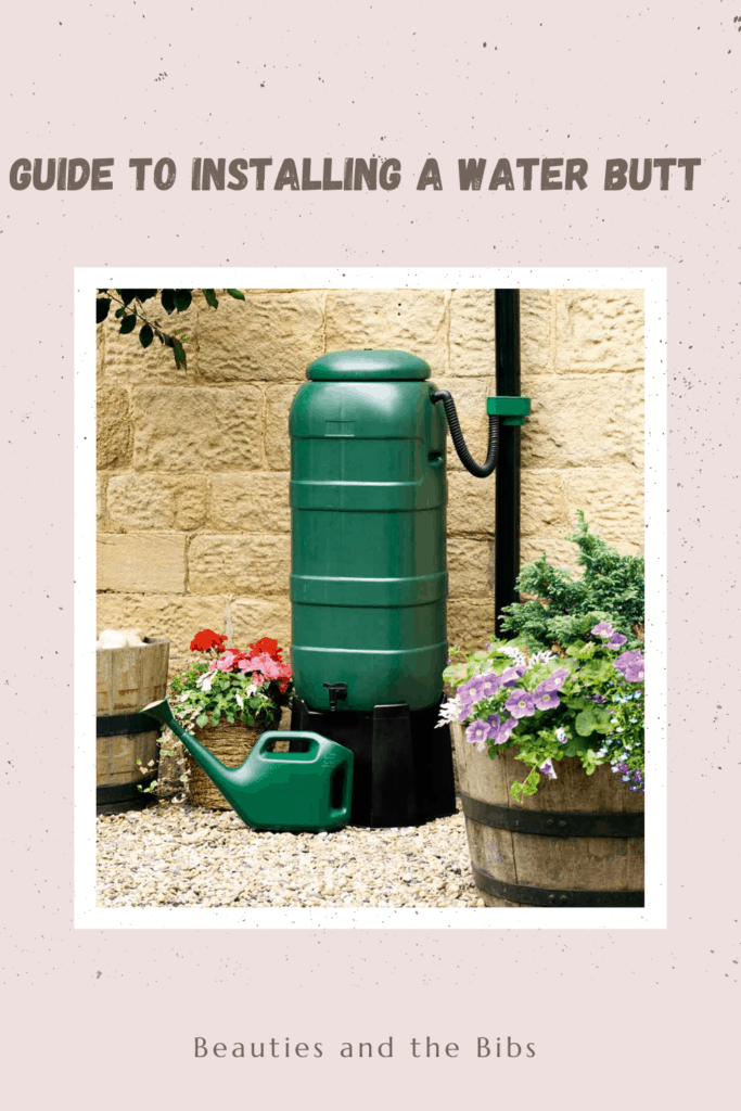 More and more people are moving towards greener ways of living. A water butt enables you to save money and be better on the environment.  #gardening #greenliving #howto #outdoors #garden #waterbutt